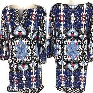 Laundry x Shelli Segal Career Paisley Shift Dress